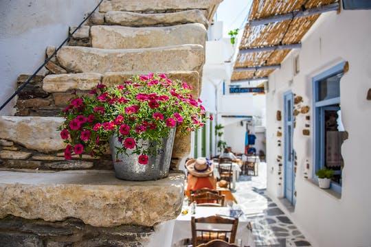 Experiência culinária em Naxos