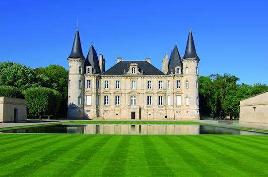 Visita guiada al Grand cru Chateau y al pueblo de Saint Emilion