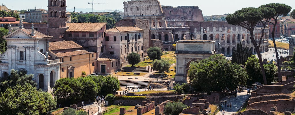 Finding Rome's Lost Empire: Colosseum and Roman Forum tour