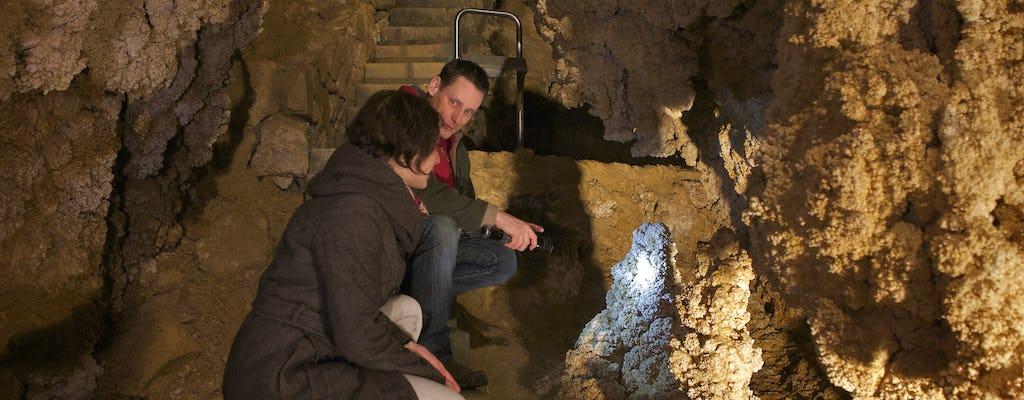Passeggiata nelle grotte di Budapest