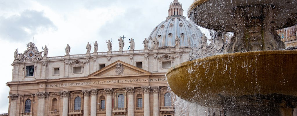Get to Know the Vatican: Castel Sant Angelo and St. Peter's Square