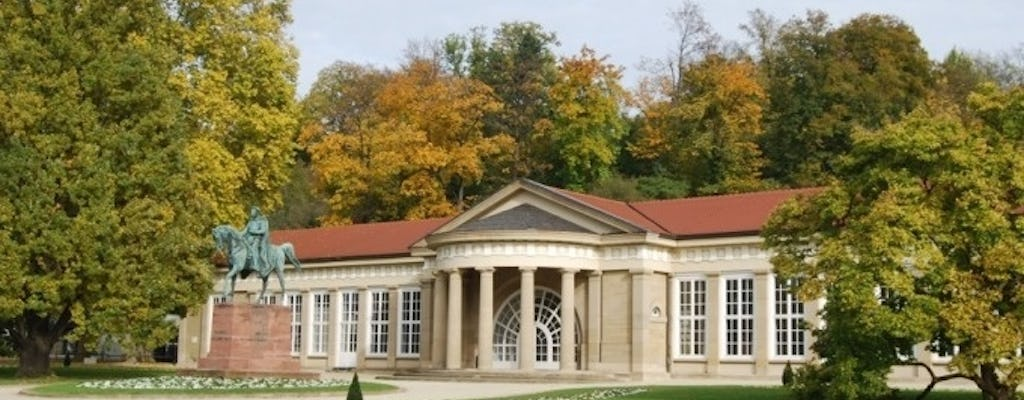 Private guided tour from the Kurpark to the old town of Bad Cannstatt