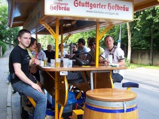 Group-bike tour through Stuttgart with professional driver