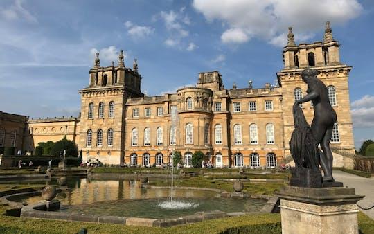 Cotswolds en privétour door Blenheim Palace