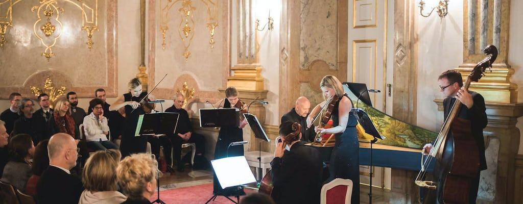 Concert at Mirabell Palace Salzburg