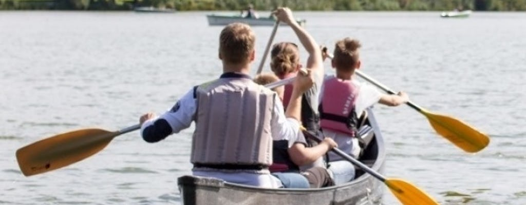 Alquiler de canoa canadiense en Stuttgart en el río Neckar (4 horas)