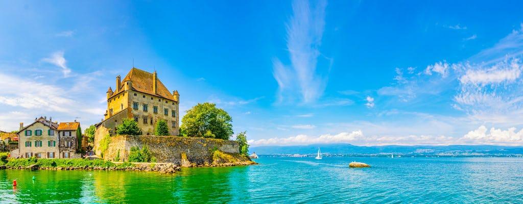 Viagem de meio dia ao Yvoire medieval saindo de Genebra com cruzeiro de barco