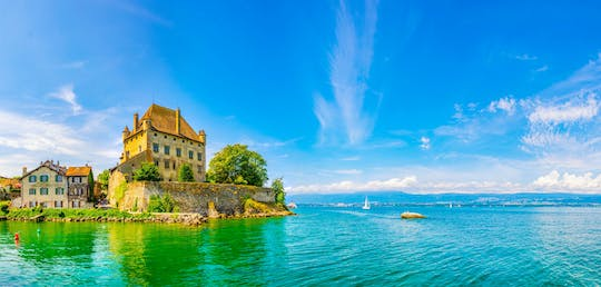 Medieval Yvoire half-day trip from Geneva with boat cruise