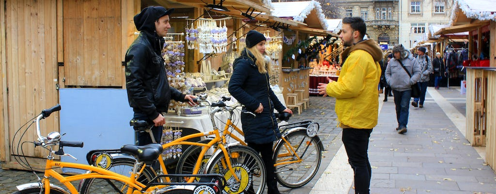 Budapest winter bike tour
