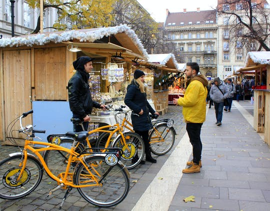 Budapest Winter Radtour