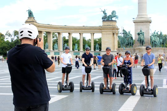 Budapest City Park Self-balancing scooter tour with Heroes's Square