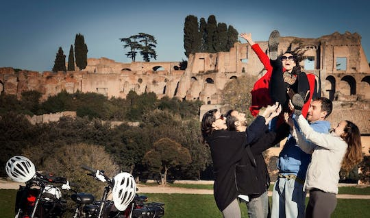 Panoramic tour of Rome with e-bike