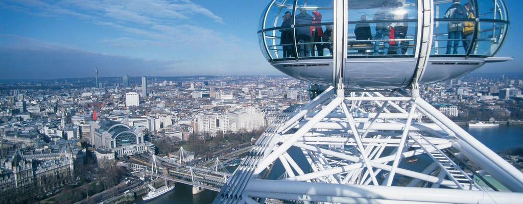 London Eye fast-track VIP flight with a professional guide