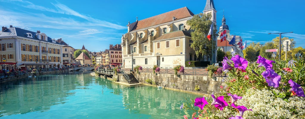 Annecy half-day trip from Geneva with guided walking tour