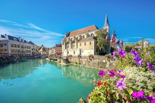 Gita di mezza giornata ad Annecy da Ginevra con visita guidata a piedi