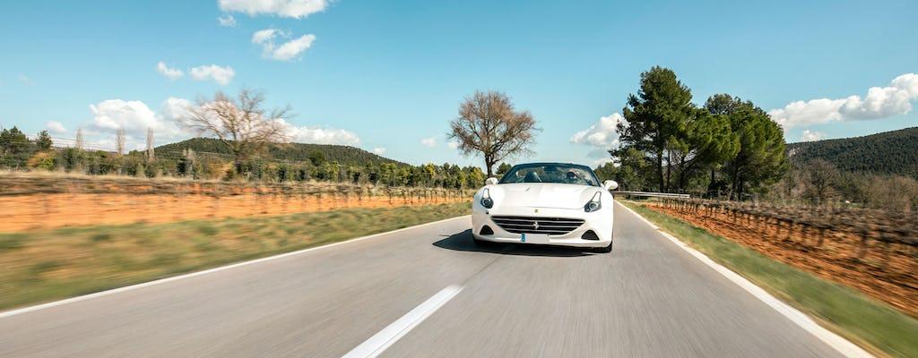 Excursión de medio día en Ferrari a la región vinícola del Penedès desde Barcelona