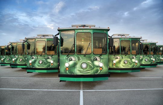 I-RIDE Trolley su International Drive a Orlando