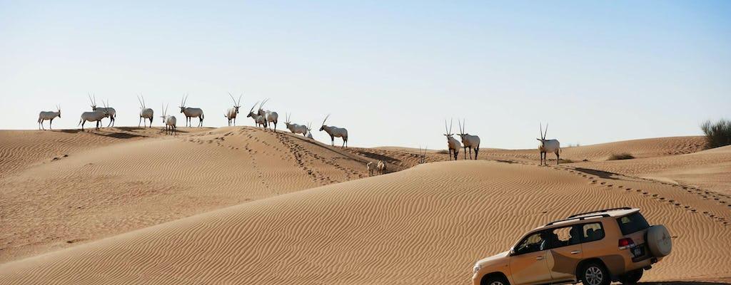 Wycieczka samchodem z napędem 4x4 po pustyniach Dubaju oraz kolacja