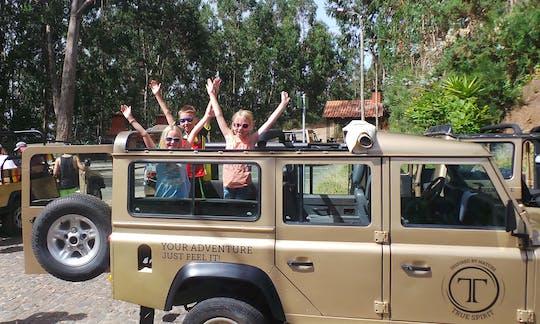 Excursion privée en jeep d'une demi-journée à l'est ou à l'ouest de Madère