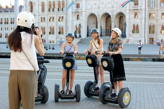 Budapest 2-hour Grand Self-balancing scooter tour