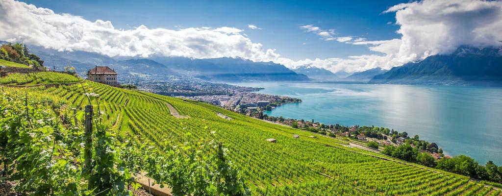 Gita di un giorno in autobus al ghiacciaio 3000 e Montreux da Losanna