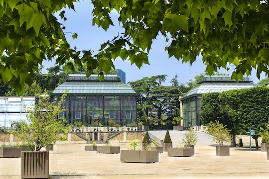 Tickets for the Grandes Serres du Jardin des Plantes (greenhouses)