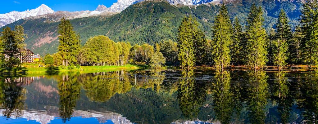 Z Genewy do Chamonix Mont Blanc autobus w obie strony