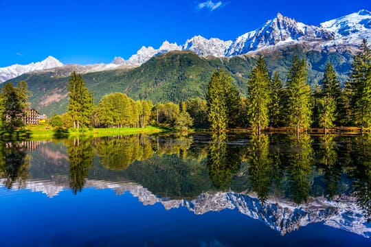From Geneva to Chamonix Mont Blanc bus roundtrip