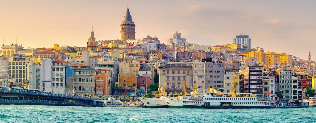 Bosphorus sunset cruise on luxury yacht with guide