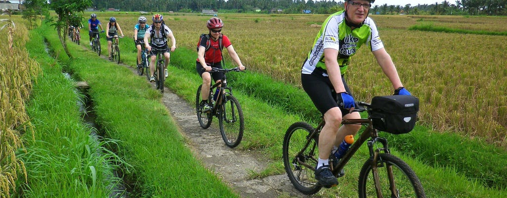 Cycling through rural Bali