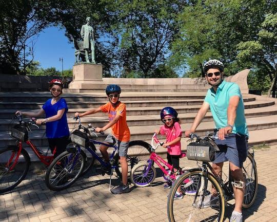 Семейный тур на велосипеде в Чикаго