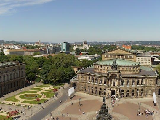 Glanzvoller Stadtrundgang mit Neuen Grünen Gewölbe und Semperoper Führung