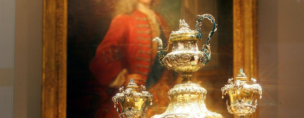 Recorrido por la ciudad de Dresde con visita al tesoro en New Green Vault