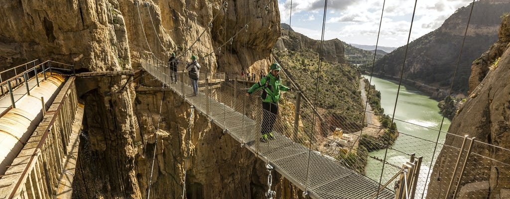 Caminito del Rey small-group tour from Malaga