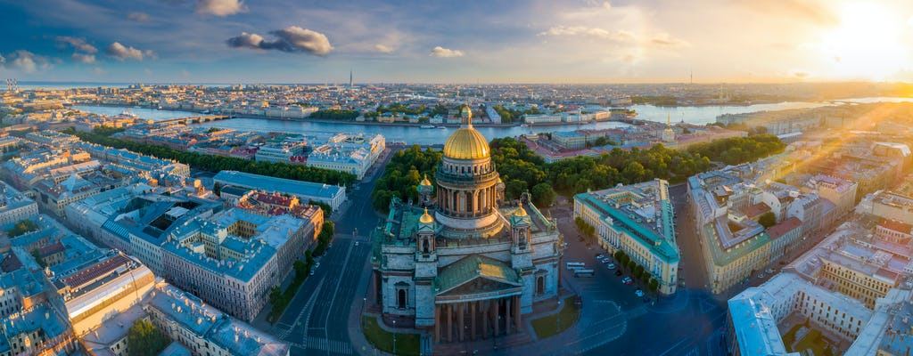 2-day private tour of St Petersburg with Peterhof and Catherine Palace