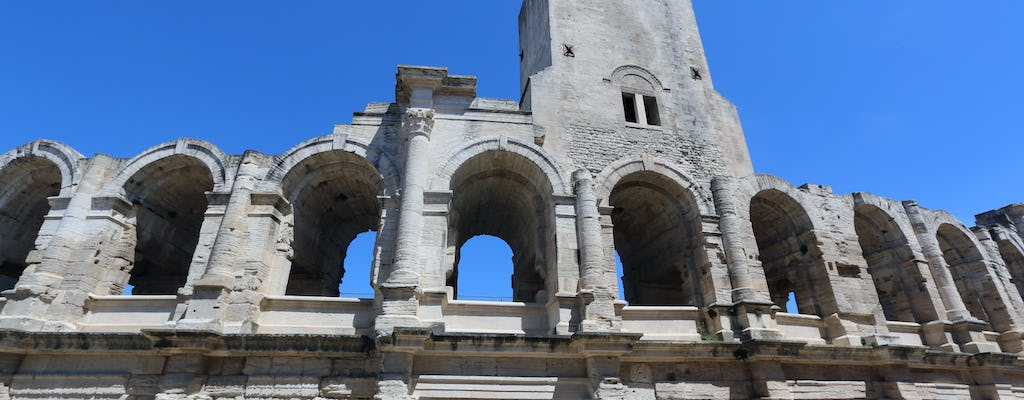 Full-day private tour of St Remy and the Romans and Vincent Van Gogh Arles
