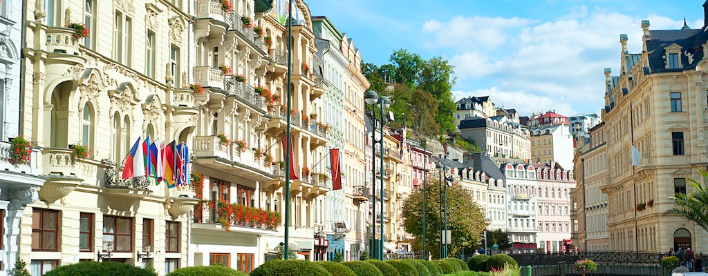 Karlovy Vary full-day tour from Prague