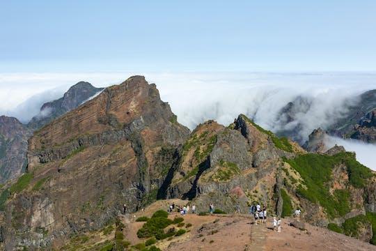 Pico do Arieiro Wandeling - vanaf het Westen