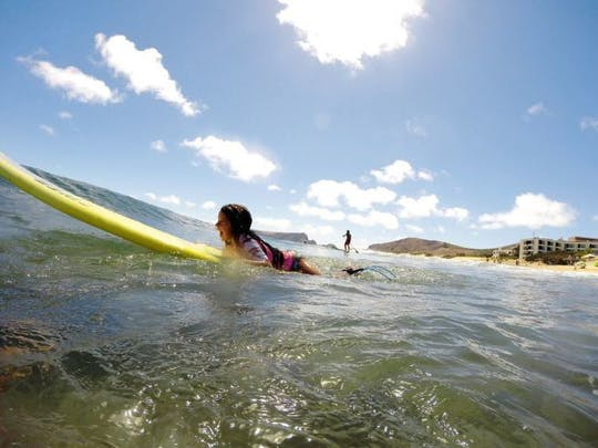 Cours de surf à Porto Santo