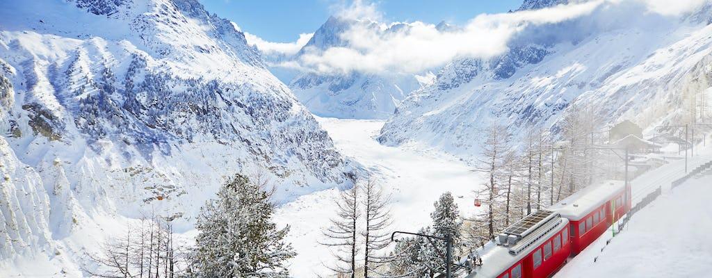 Excursion d'une journée à Chamonix Mont Blanc avec train de montagne