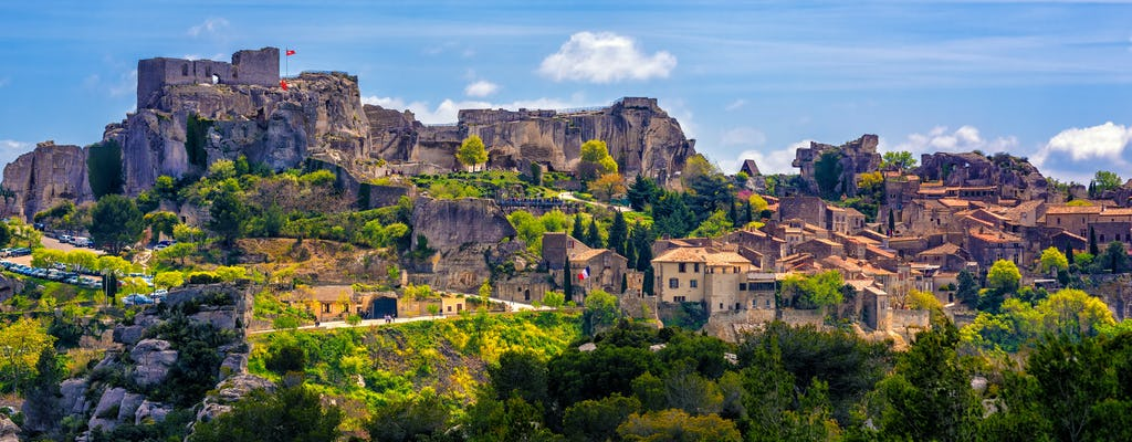 Full-day private tour of the Medieval Villages Les Baux and St Remy de Provence