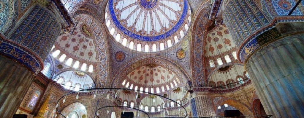 Half day Morning Ottoman Splendors tour, including the Blue Mosque