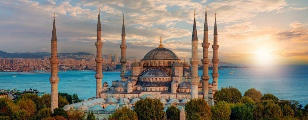 Istanbul Super Saver półdniowy rejs po Bosfor, wycieczka po rynku przypraw i turecka kolacja