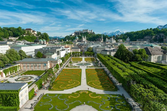 City tour by bus with Mozart's residence in Salzburg