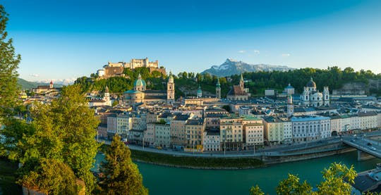Salzburg one hour highlights tour