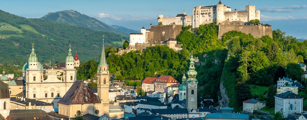Best of Salzburg city and countryside day tour