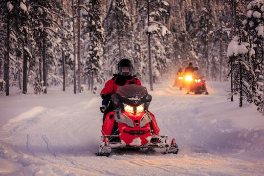 Snowmobile Adventure Single Rider – Night