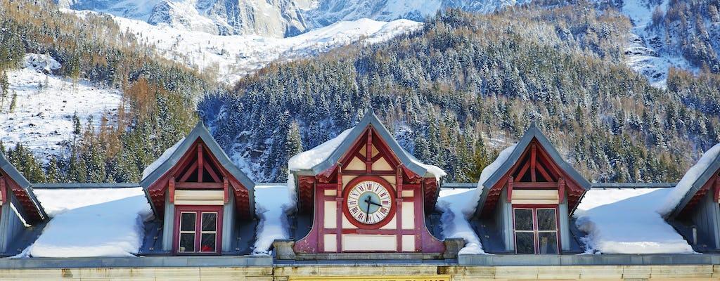 Tour pela cidade de Chamonix Mont Blanc e Genebra