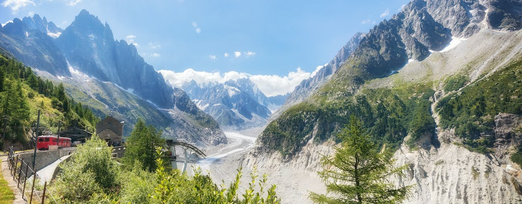 Chamonix Mont Blanc guided day trip with cable car and mountain train