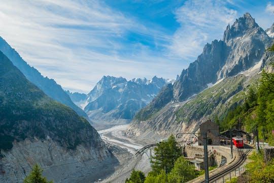 Visita guiada de um dia a Chamonix Mont Blanc com trem de montanha e almoço